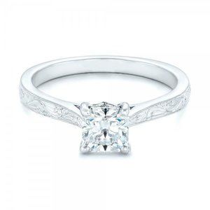 1.5 ct Princess cut sparkling diamond anniversary